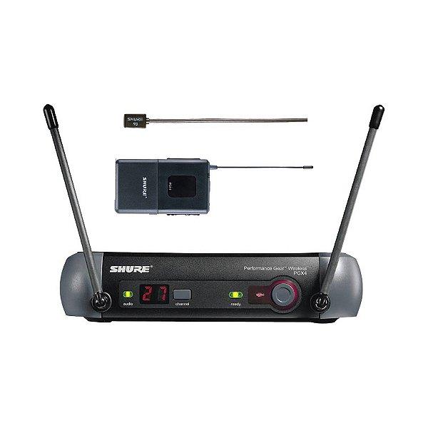 Sistema sem fio Lapela Shure PGX14/93