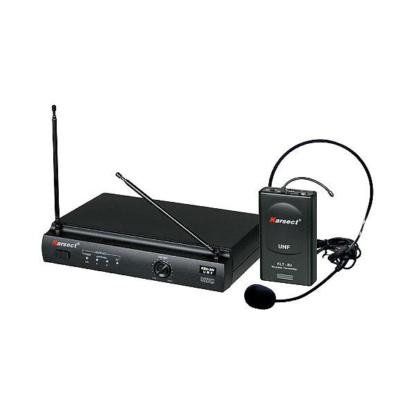 Sistema sem fio Headset Karsect KRU 301