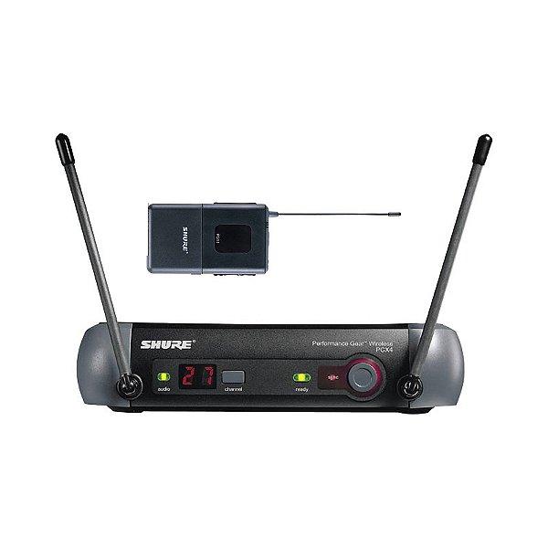Sistema sem fio Instrumento Shure PGX14BR