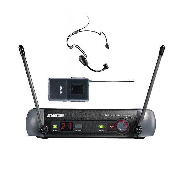 Sistema sem fio Cabeça Shure PGX14/PG30