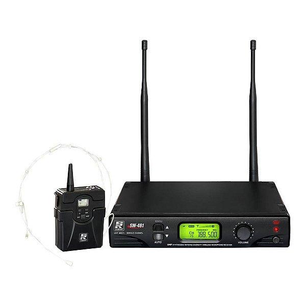 Sistema sem fio Cabeça Staner SW 481