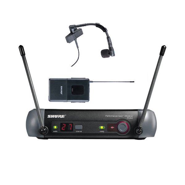 Sistema sem fio Instrumento Shure PGX14/Beta98H