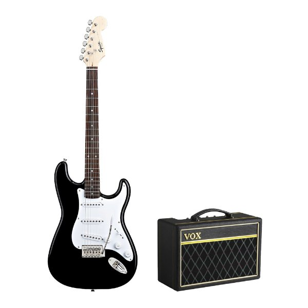 Kit Squier Strato   VOX Pathfinder 10
