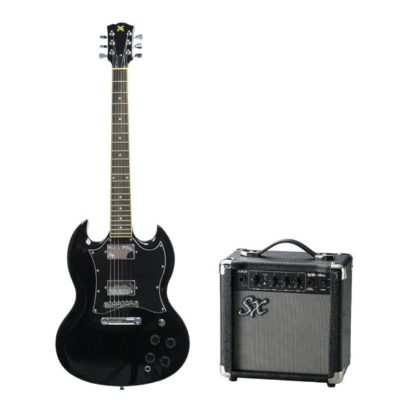 Kit SX Guitarra SG EG3 + Combo + Acessórios