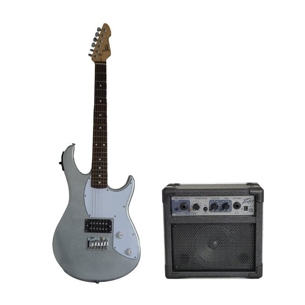 Kit Guitarra Peavey Rockmaster + Combo + Acessórios