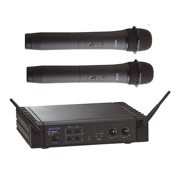 Sistema sem fio Mão Gemini UF 2064 M - 64 Frequências