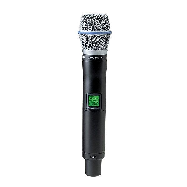 Microfone sem fio Mão Shure UR 2 Beta 87 A L 3