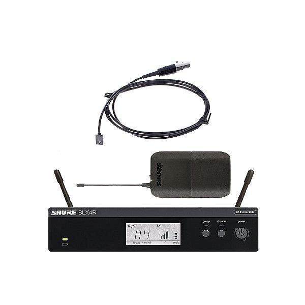 Sistema sem fio Lapela Shure BLX 14 R WL 93 - J10