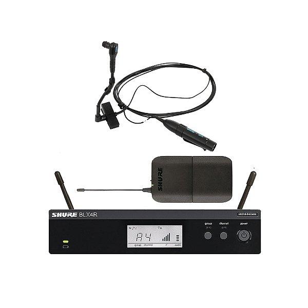 Sistema sem fio Instrumento Shure BLX 14 R Beta 98 HC - M15