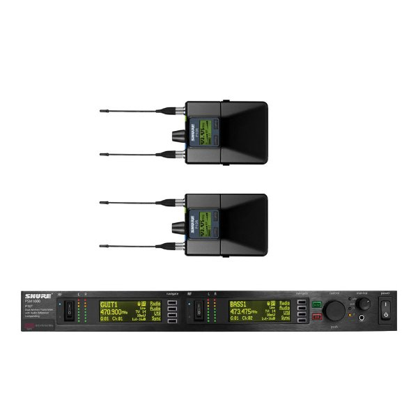Sistema sem fio In-Ear Shure P 10 TR L8