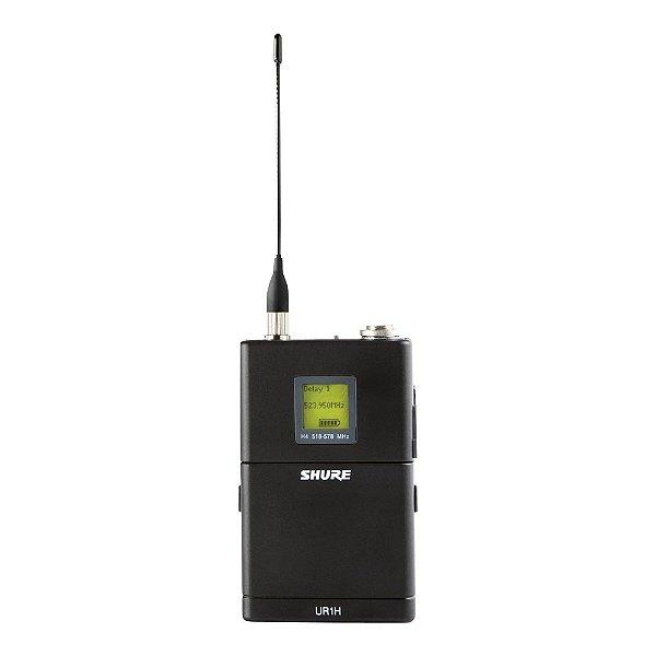 Transmissor Body Pack Shure UHFR UR 1 H J5
