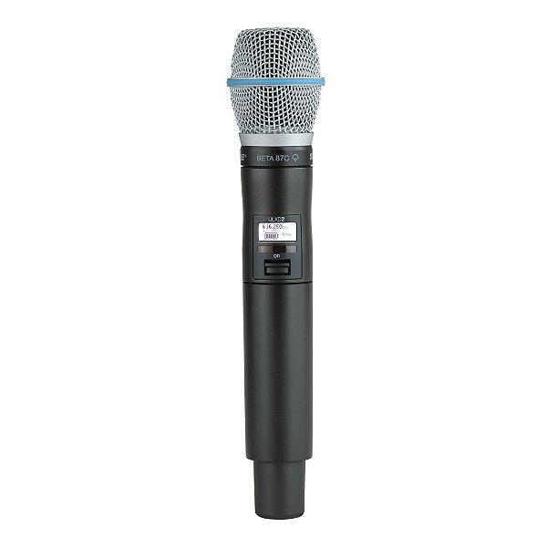 Microfone sem fio Shure ULXD 2 BETA 87 C - L50