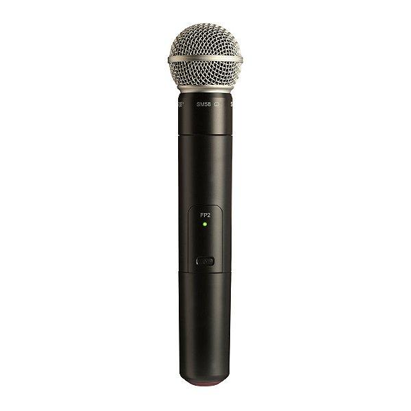 Microfone sem fio Shure FP 2 SM 58 J3