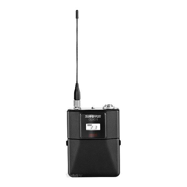 Transmissor Body Pack Shure QLXD 1 - L50