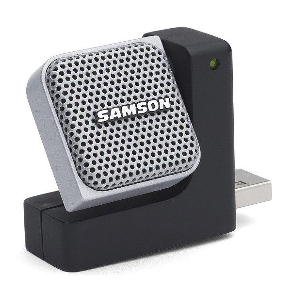 Microfone Portátil USB Samson Go Mic Direct