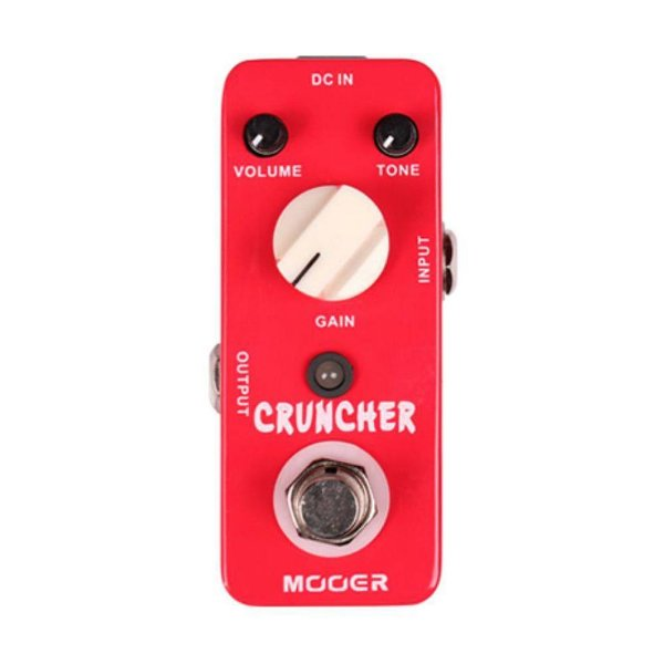 Pedal Guitarra Mooer Cruncher Distortion