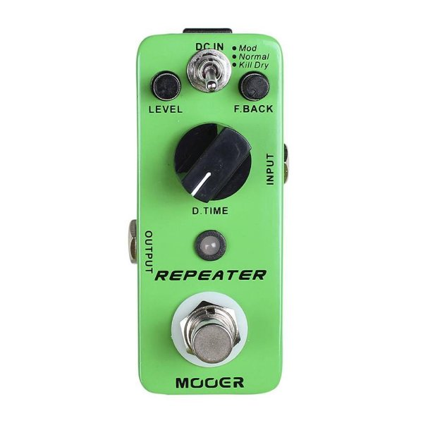 Pedal Guitarra Mooer Repeater Delaty