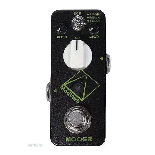 Pedal Guitarra Mooer Modverb