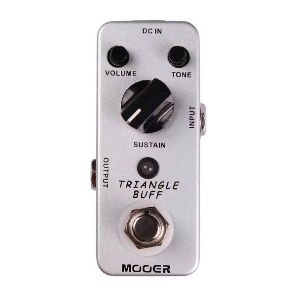 Pedal Guitarra Mooer Triangle Buff Fuzz