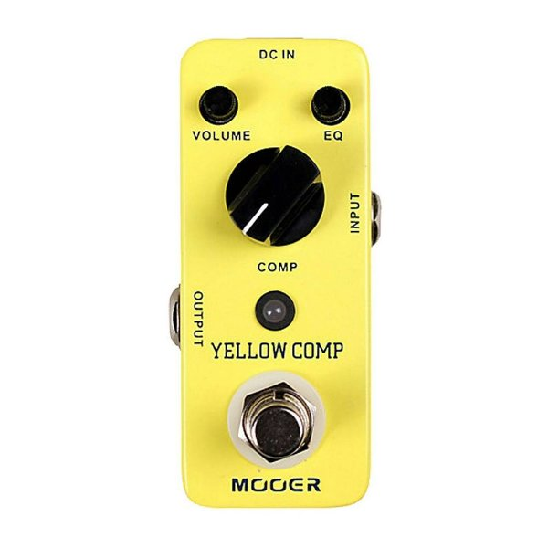 Pedal Guitarra Mooer Yellow Comp