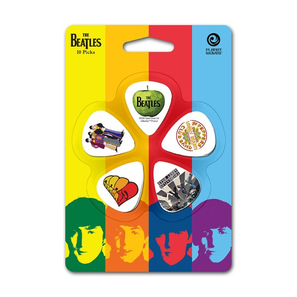 Palheta Planet Waves The Beatles Albums Light (Pack com 10)