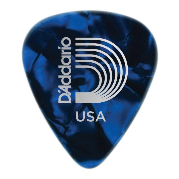 Palheta Planet Waves Perolada Blue Heavy (Pack com 25)