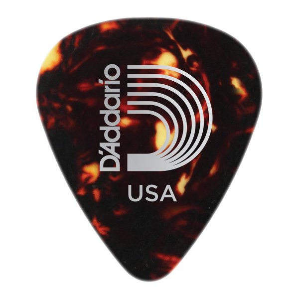 Palheta Planet Waves Shell Heavy (Pack com 25)