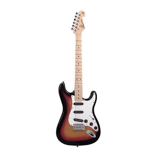 Guitarra Strato SX SST Alder 3 TS