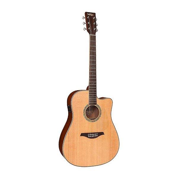 Violão Folk Vintage VEC 501 N