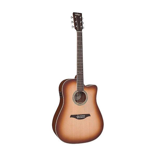 Violão Folk Vintage VEC 501 TSB