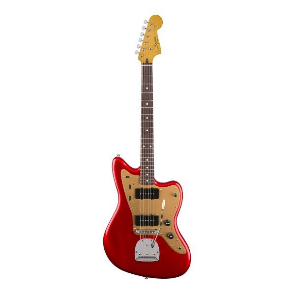 Guitarra Squier Deluxe Jazzmaster TR With Tremolo