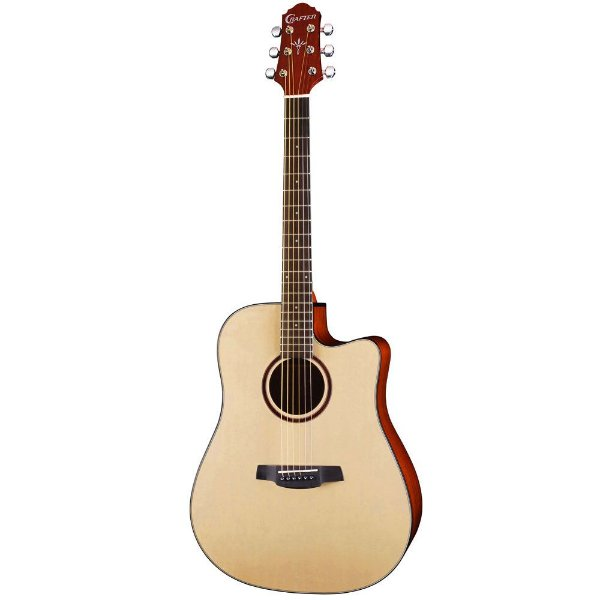 Violão Dreadnought Crafter HDE 200 N