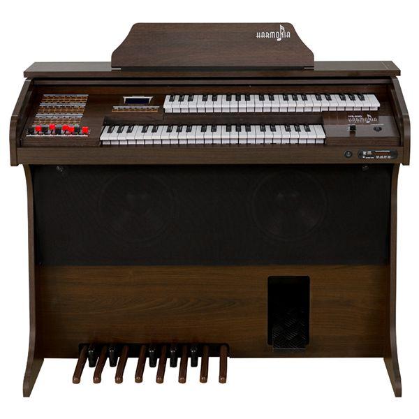 Orgão Eletrônico Harmonia HS-90 D Tabaco