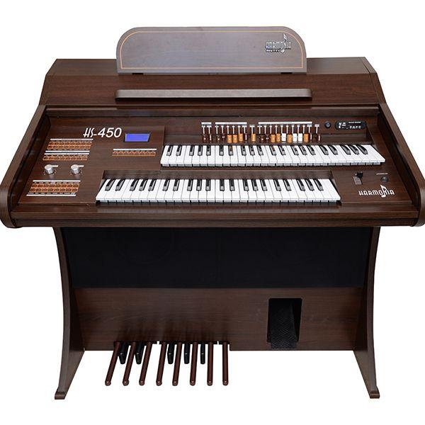 Órgão Harmonia HS 450  Tabaco