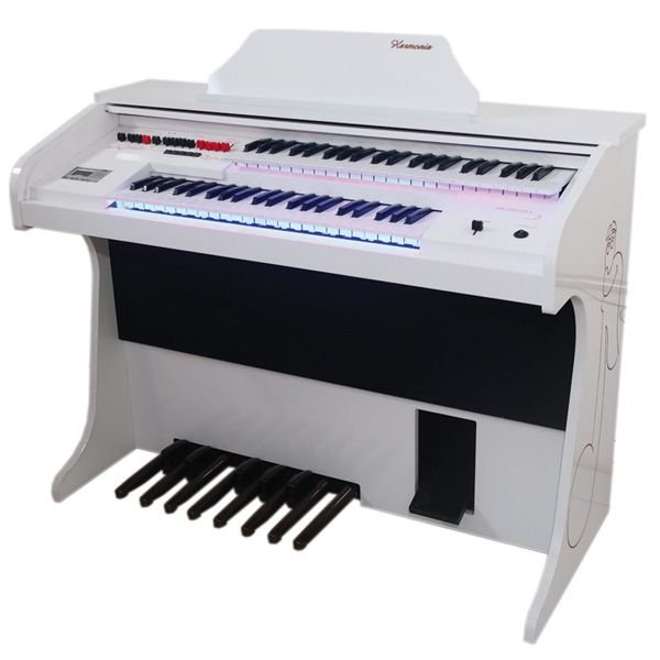 Órgão Harmonia HS 200 Kids Branco Brilhante
