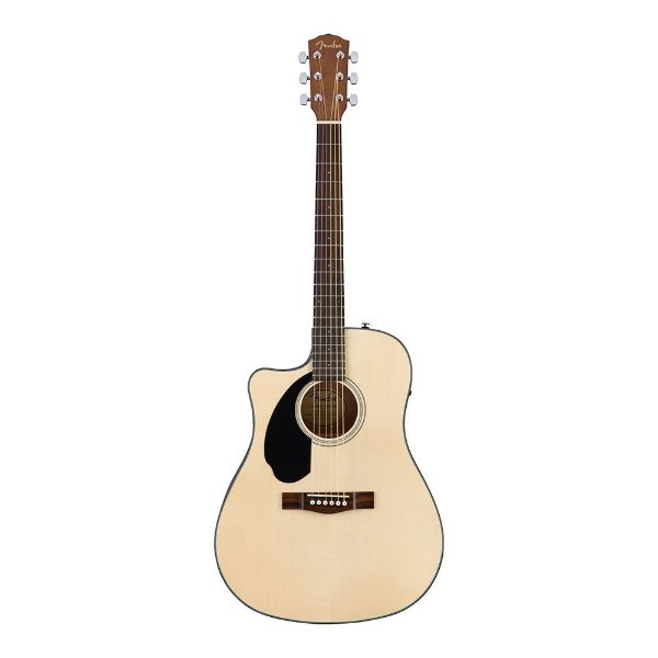 Violao Fender Dreadnought CD 60 SCE Canhoto Natural