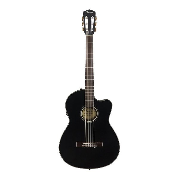 Violao Fender Thinline Nylon Com Case CN 140 SCE Black
