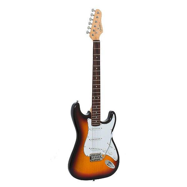 Guitarra Strat Giannini G100 3TS/WH Sunburst