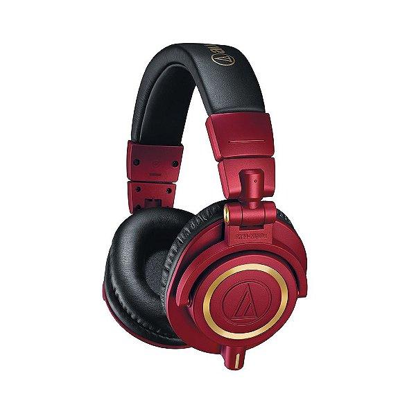 Fone De Ouvido Audio Technica ATH M 50 XRD - Limited Edition Red Gold