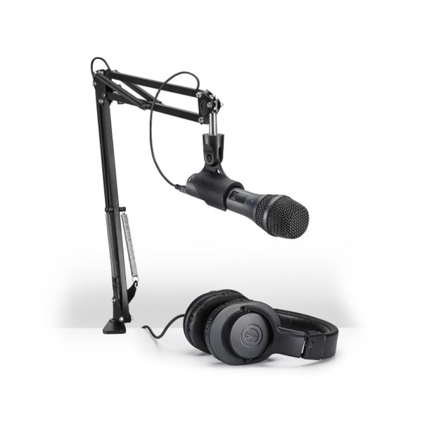 Kit Streaming e Podcasting Audio Technica AT 2005 USB+PK