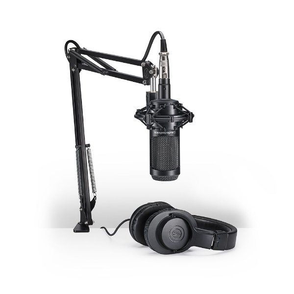 Kit Streaming e Podcasting Audio Technica AT 2035 PK