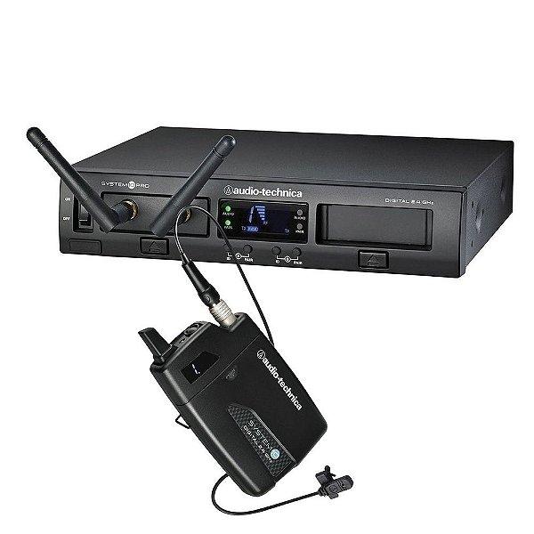 Sistema Microfone Audio Technica System 10 Pro ATW 1301/L