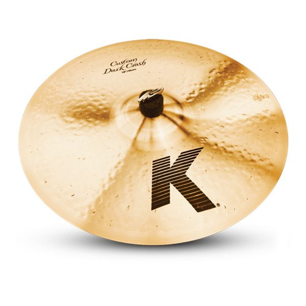"Prato Zildjian K Custom 18"" Dark Crash"