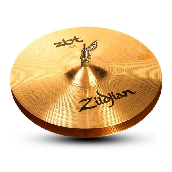 "Prato Zildjian A Series 15"" Heavy Hi-Hats (Top)"
