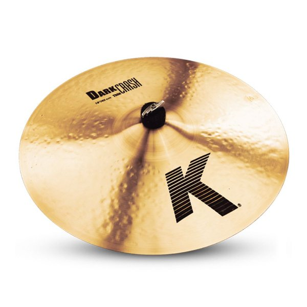 "Prato Zildjian K Series 18"" Dark Medium Thin Crash"