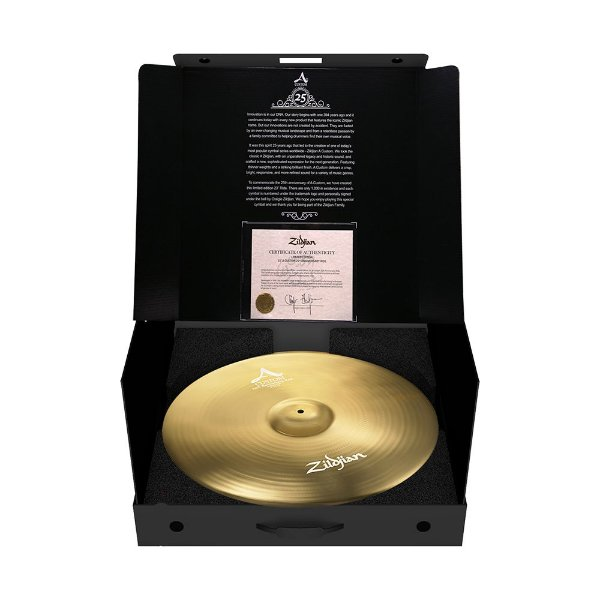 "Prato Zildjian A Custom 23"" Ride 25Th Anniversar"