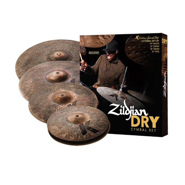 Kit de Pratos Zildjian K Custom Special Dry Series
