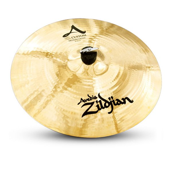 "Prato Zildjian A Custom 16"" Medium Crash"