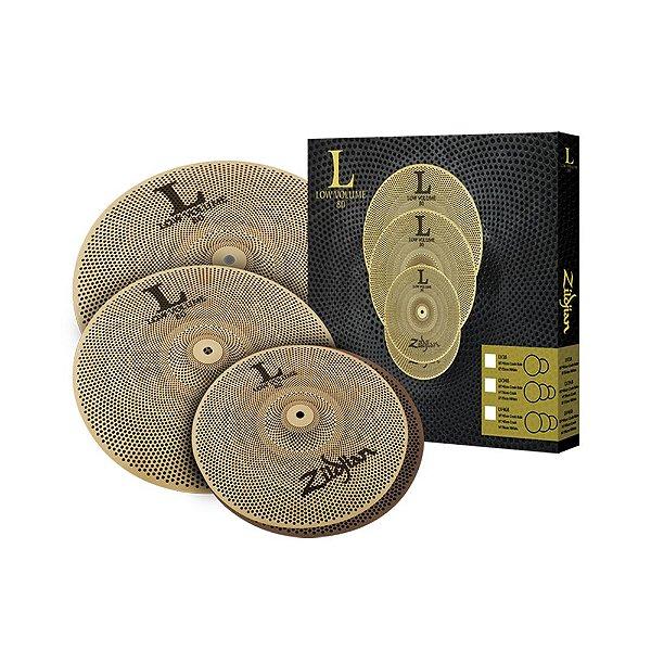 Kit de Pratos Zildjian Low Volume LV 468