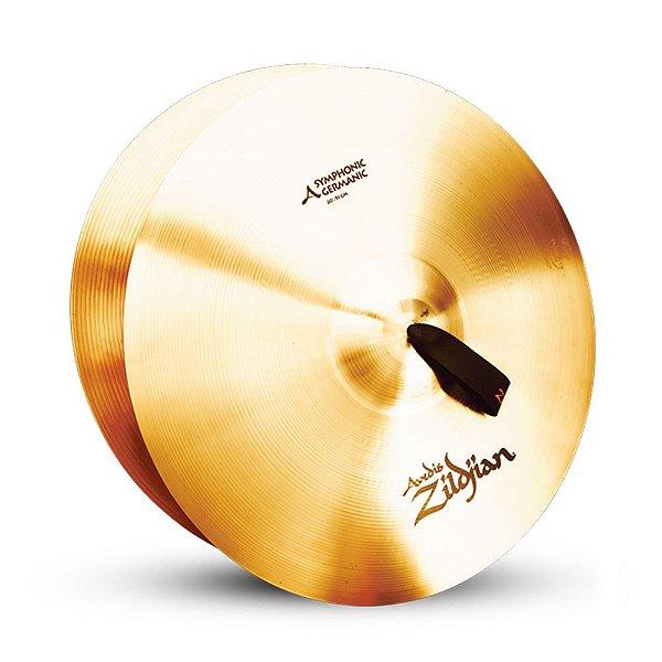 "Par de Pratos Zildjian Symphonic German Tone 20"" A0492"